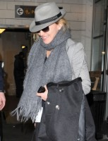 Madonna arriving at JFK airport, New York, April 12th 2011 (2)