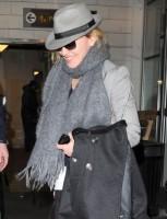 Madonna arriving at JFK airport, New York, April 12th 2011 (2)