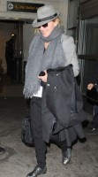 Madonna arriving at JFK airport, New York, April 12th 2011 (3)