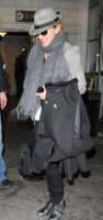 Madonna arriving at JFK airport, New York, April 12th 2011 (5)