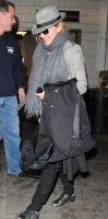 Madonna arriving at JFK airport, New York, April 12th 2011 (6)