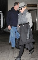 Madonna arriving at JFK airport, New York, April 12th 2011 (7)