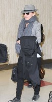 Madonna arriving at JFK airport, New York, April 12th 2011 (10)