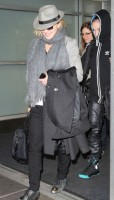 Madonna arriving at JFK airport, New York, April 12th 2011 (12)