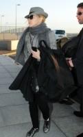 Madonna leaving London, Heathrow Airport, April 12th 2011 (1)