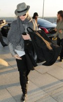 Madonna leaving London, Heathrow Airport, April 12th 2011 (3)