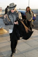 Madonna leaving London, Heathrow Airport, April 12th 2011 (5)