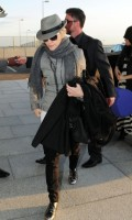 Madonna leaving London, Heathrow Airport, April 12th 2011 (6)