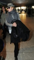Madonna leaving London, Heathrow Airport, April 12th 2011 (10)