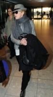 Madonna leaving London, Heathrow Airport, April 12th 2011 (11)