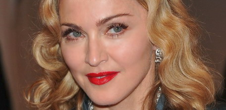 Madonna at the Alexander McQueen Savage Beauty Costume Institute Gala at The Metropolitan Museum of Art in New York City
