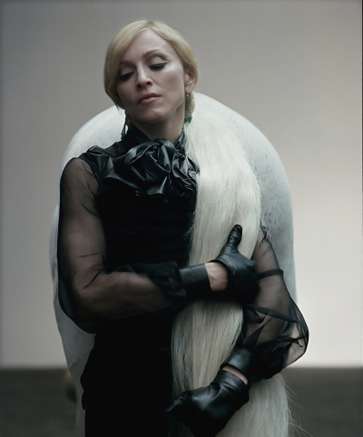 Madonna outtakes by Steven Klein, Annie Leibovitz, Guy Oseary, Tom Munro, Steven Meisel (21)