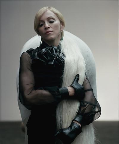 Madonna outtakes by Steven Klein, Annie Leibovitz, Guy Oseary, Tom Munro, Steven Meisel (21)