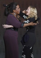 Madonna at the taping of Oprah's Surprise Spectacular episode in Chicago 0
