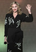 Madonna at the taping of Oprah's Surprise Spectacular episode in Chicago 05