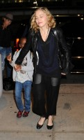 Madonna arrives at JFK airport New York - destination London (12)
