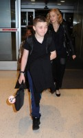Madonna arrives at JFK airport New York - destination London (33)