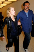 Madonna arrives at JFK airport New York - destination London (35)