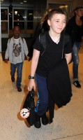 Madonna arrives at JFK airport New York - destination London (37)