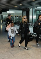 Madonna arrives at Heathrow airport, London (1)