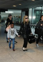 Madonna arrives at Heathrow airport, London (2)
