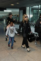 Madonna arrives at Heathrow airport, London (3)