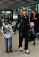 Madonna arrives at Heathrow airport, London (7)