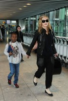 Madonna arrives at Heathrow airport, London (8)