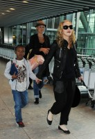 Madonna arrives at Heathrow airport, London (10)