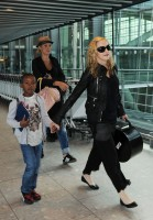 Madonna arrives at Heathrow airport, London (11)