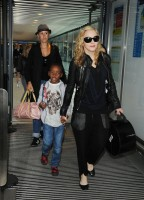 Madonna arrives at Heathrow airport, London (12)