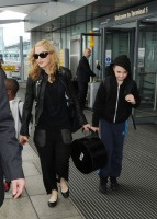 Madonna arrives at Heathrow airport, London (15)