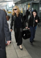 Madonna arrives at Heathrow airport, London (16)