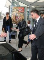 Madonna arrives at Heathrow airport, London (17)