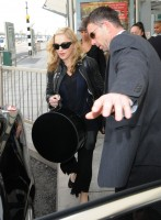 Madonna arrives at Heathrow airport, London (18)