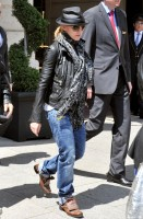 Madonna and Steven Klein leaving the Ritz hotel, Paris (1)