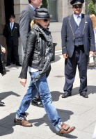 Madonna and Steven Klein leaving the Ritz hotel, Paris (3)