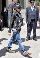 Madonna and Steven Klein leaving the Ritz hotel, Paris (3)