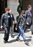 Madonna and Steven Klein leaving the Ritz hotel, Paris (4)