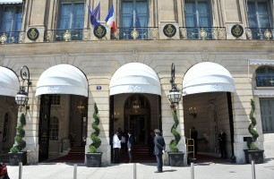 Madonna and Steven Klein leaving the Ritz hotel, Paris (5)