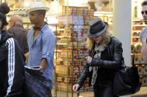 Madonna arrives at St Pancras Eurostar Station, London (1)
