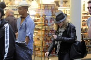 Madonna arrives at St Pancras Eurostar Station, London (1)