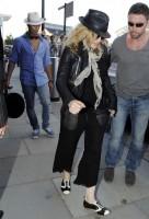 Madonna arrives at St Pancras Eurostar Station, London (2)