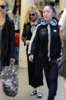 Madonna arrives at St Pancras Eurostar Station, London (3)