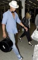 Madonna arrives at St Pancras Eurostar Station, London (4)