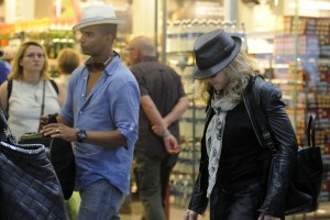 Madonna arrives at St Pancras Eurostar Station, London (5)