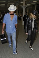 Madonna arrives at St Pancras Eurostar Station, London (6)