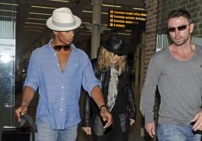 Madonna arrives at St Pancras Eurostar Station, London (8)