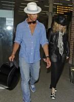 Madonna arrives at St Pancras Eurostar Station, London (9)