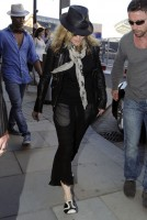 Madonna arrives at St Pancras Eurostar Station, London (10)